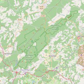 Hunsrück Hochwald Karte.Die Region Nationalpark Kommunen